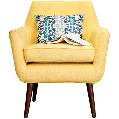 Adamstown Armchair Upholstery: Mustard Yellow