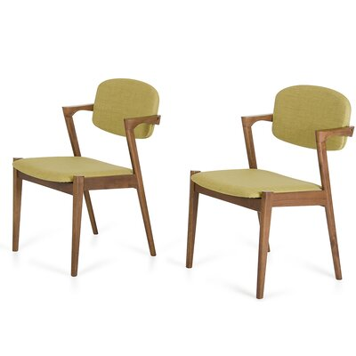 Tomita Side Chair Upholstery: Green Tea