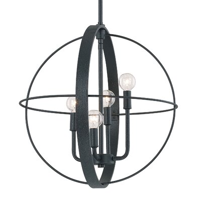 Nico 4-Light Globe Pendant