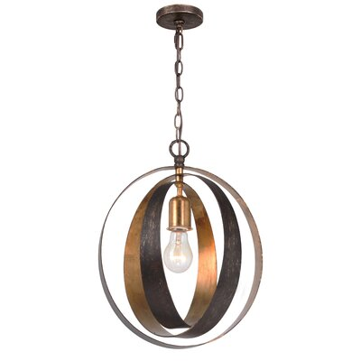 Mason 1-Light Globe Pendant