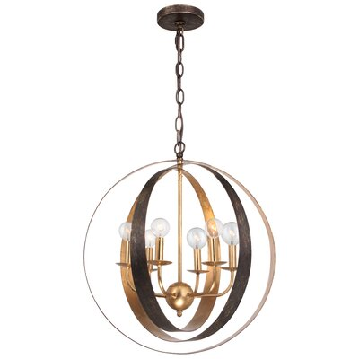 Mason 6-Light Globe Pendant