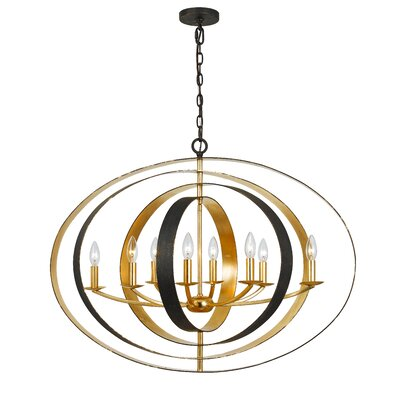 Mason 8-Light Foyer Pendant