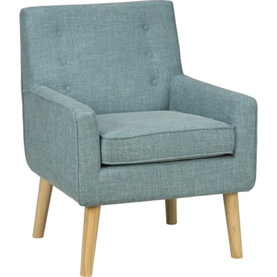 London Mod Armchair Color: Peacock