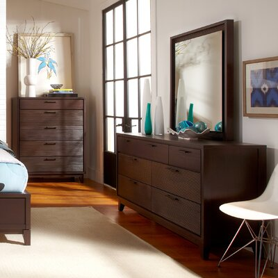 Madison 7 Drawer Dresser with Mirror