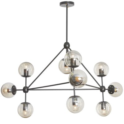 Frederick 10-Light Sputnik Chandelier