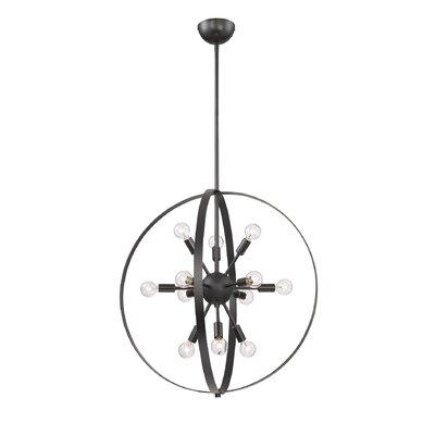 Caius 12-Light Globe Pendant Finish: Classic Bronze