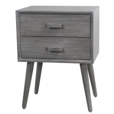 Arets 2 Drawer End Table