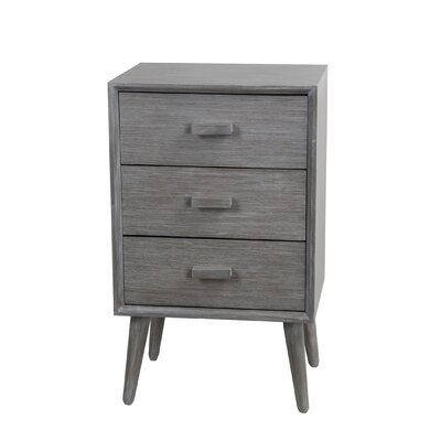 Arets 3 Drawer End Table