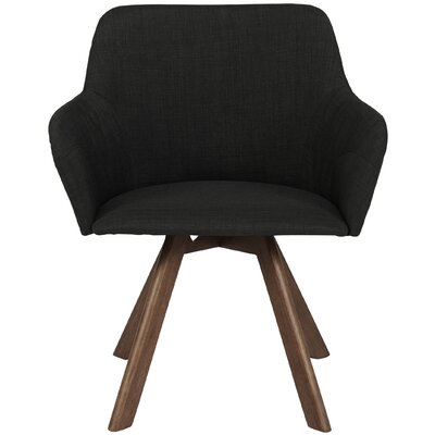 Marta Armchair (Set of 2) Upholstery: Dark Gray
