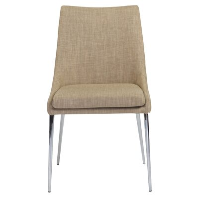 Aghavary Side Chair (Set of 2) Upholstery: Tan