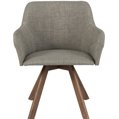 Marta Armchair (Set of 2) Upholstery: Light Gray