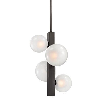 Merced 4-Light Mini Pendant Finish: Old Bronze