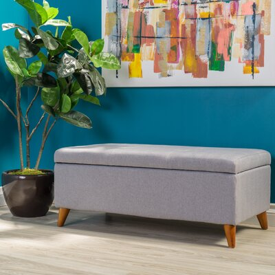 Goldwin Storage Ottoman Finish: Light Grey