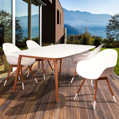 Colyer 5 Piece Dining Set