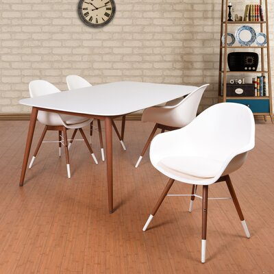 Colyer 5 Piece Dining Set with Cushion