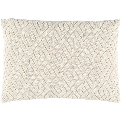 Dexter 100% Cotton Lumbar Pillow Cover Color: Neutral