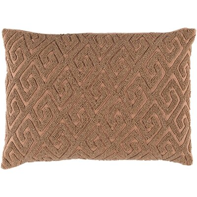Dexter 100% Cotton Lumbar Pillow Cover Color: Brown