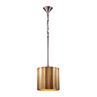 Dido 1-Light Drum Pendant Size: 12.2 H x 18.1 W x 18.1 D