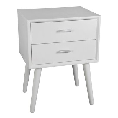 Montgomery End Table Finish: White