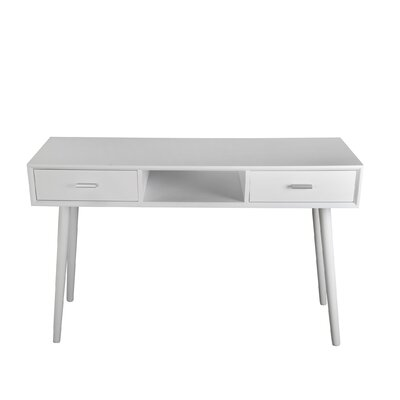 Montgomery Console Table Finish: White