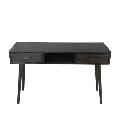 Montgomery Console Table Finish: Black
