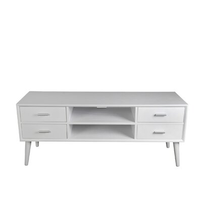 Montgomery 48 TV Stand Color: White
