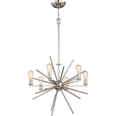 Croaghmore 6-Light Sputnik Chandelier