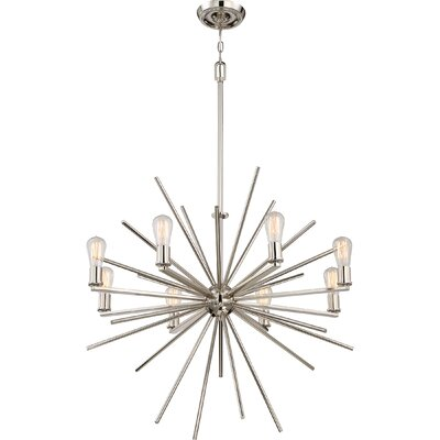 Ceil 8-Light Sputnik Chandelier