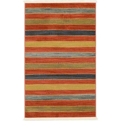 Almena Multi Area Rug Rug Size: 33 x 53