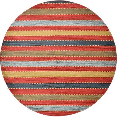 Almena Multi Area Rug Rug Size: Round 122