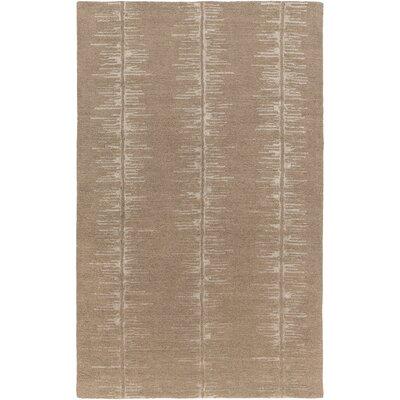 Zafiro Hand-Tufted Camel/Khaki Area Rug Rug size: 5 x 8