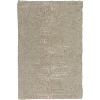 Zafiro Hand-Tufted Taupe Area Rug Rug size: Rectangle 33 x 53