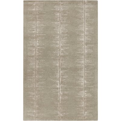 Zafiro Hand-Tufted Taupe Area Rug Rug size: Rectangle 9 x 13