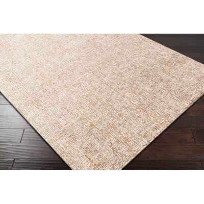 Mira Vista Hand-Tufted Orange Area Rug Rug Size: 8 x 10