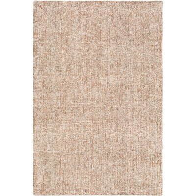 Mira Vista Hand-Tufted Orange Area Rug Rug Size: Rectangle 5 x 76