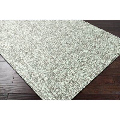 Mira Vista Hand-Tufted Green Area Rug Rug Size: 2 x 3