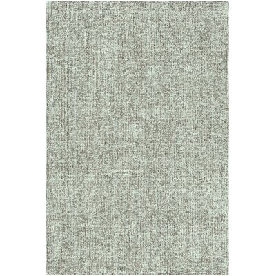 Mira Vista Hand-Tufted Green Area Rug Rug Size: 5 x 76