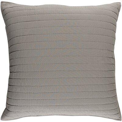 Alewife Light Gray Sham Size: Euro