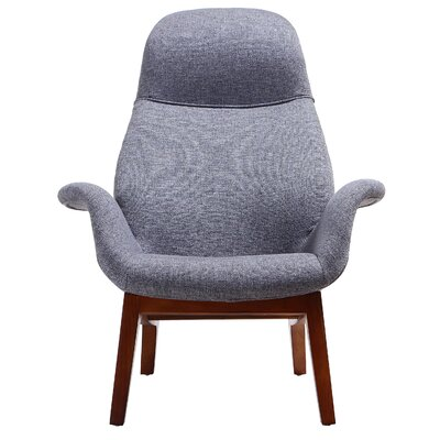 Nero Lounge Chair Color: Graphite