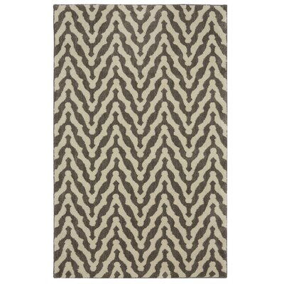 Bonino North Point Gray/Beige Area Rug Rug Size: 5 x 8