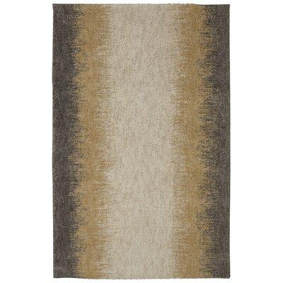 Evander Gray/Beige Area Rug Rug Size: 5 x 8