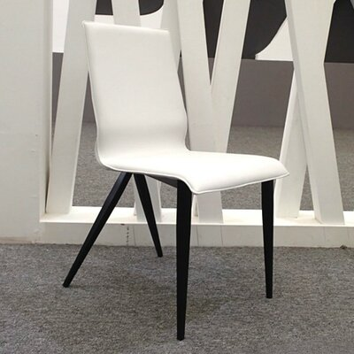 Otis Genuine Leather Upholstered Dining Chair