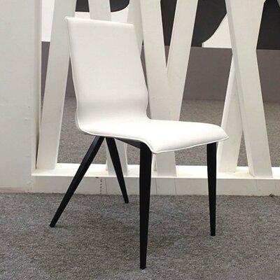 Otis Genuine Leather Upholstered Dining Chair