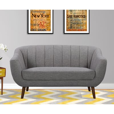 Anderson Mid-Century Contemporary Loveseat