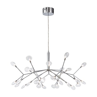 Amberg 27-Light Sputnik Chandelier