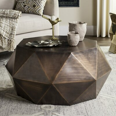 Varga Coffee Table Color: Dark Copper