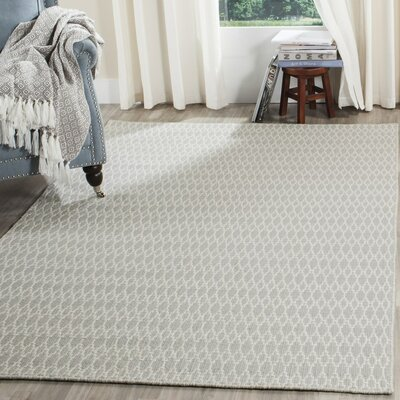 Aniwa Beige/Ivory Area Rug Rug Size: Rectangle 8 x 10