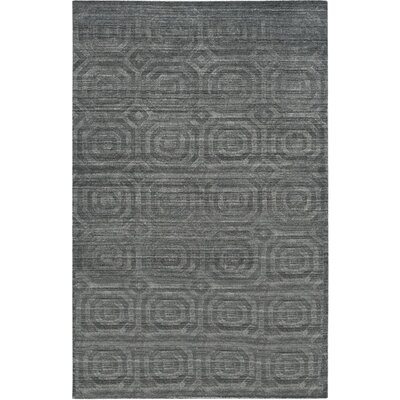 Arena Dark Gray Area Rug Rug Size: 6 x 9