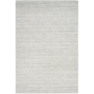 Arena Light Gray Area Rug Rug Size: Rectangle 9 x 12