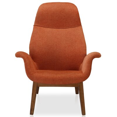 Nero Lounge Chair Upholstery: Orange